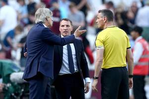 west ham boss manuel pellegrini fumes at 'big mistakes' after leicester city draw