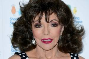 Dame Joan Collins 'lucky to survive' harrowing London flat fire