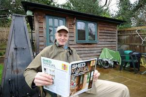 one tunbridge wells man, his shed and a passion for it that's bound to convert anyone