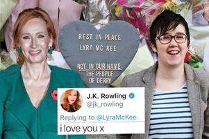 derry shooting victim lyra mckee was pal of j.k rowling and will have harry potter themed funeral