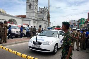 Five Brits confirmed to be among 207 dead in Sri Lanka explosions