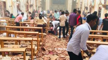 Sri Lanka attacks: At least 138 dead and 400 injured