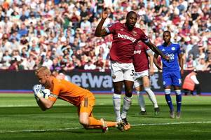 michail antonio scouting report: west ham wideman impresses - and has nice moment with the carpet