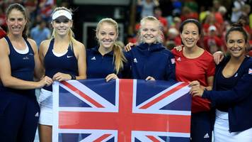 gb captain keothavong 'in awe' after fed cup joy