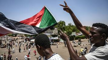 sudan crisis: protesters gather for announcement of civilian council