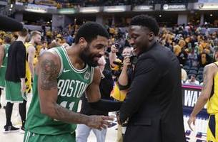 celtics sweep pacers; warriors, raptors take 3-1 leads