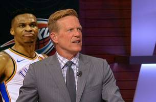 ric bucher: russell westbrook is unable to effectively distribute the ball and shoot simultaneously