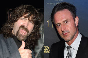 wwe legend mick foley joins david arquette's '12 hour shift' (exclusive)