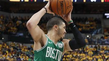 nba play-offs: boston celtics beat indiana pacers to reach eastern conference semi-finals