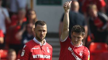 nottingham forest 3-0 middlesbrough: joe lolley scores twice on miserable day for boro