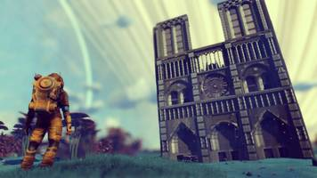 'no man's sky' gets intersterllar notre dame tribute