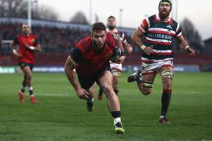 leicester tigers' squad building continues with signing of jaco taute from munster