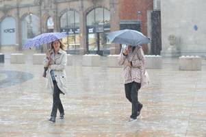this is exactly when rain will hit birmingham after easter weekend sparks 25c temperatures