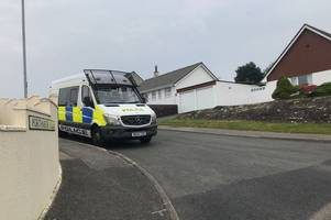 st austell residents in shock after double stabbing sparks manhunt
