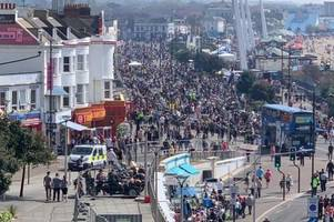 southend shakedown: essex police report riders seen driving dangerously in annual bank holiday monday biker event