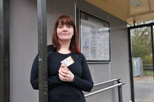 disabled passenger claire shells out £40-a-month to catch bus because she lives in 'discriminatory' stoke-on-trent