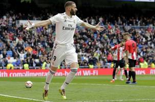 benzema hat-trick helps real back to winning ways in la liga