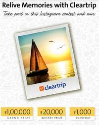 cleartrip launches an exciting instagram contest titled relive your memories