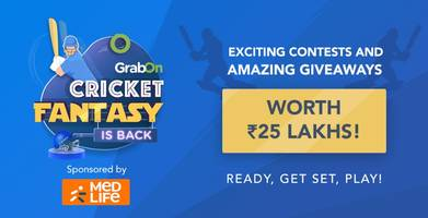 grabon cricket fantasy: win smart tvs, bluetooth headsets and more