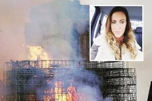 bonhill mum goes viral after claiming she saw jesus in flames of notre dame inferno