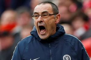 chelsea's carabao cup run better than liverpool or spurs in champions league insists maurizio sarri