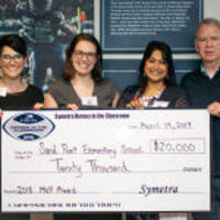 sand point elementary school wins $20,000 symetra heroes in the classroom 'mvp award'