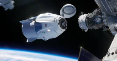 video appears to show spacex dragon capsule exploding during test