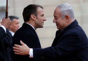 MKs to Macron: Don't lecture us - tell the PA to stop paying terrorists