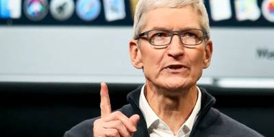 tim cook says that apple donates $0 to political candidates and that he refuses to have a pac because they 'shouldn't exist' (aapl)