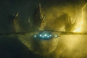 godzilla goes 'over the rainbow' in stunning new 'king of monsters' trailer (video)