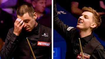 ronnie o'sullivan defeated by amateur james cahill at world championship in sheffield