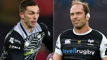 jones and north in contention to return for ospreys after injury