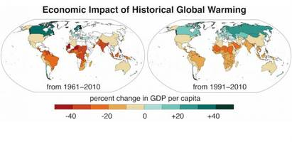 study: climate change affects global economic inequality, too