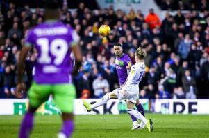 leeds united suffer major injury blow in what could be boost to aston villa, west bromwich albion and bristol city or derby county