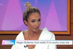 megan mckenna reveals how song writing has been her 'therapy' following mike thalassitis death