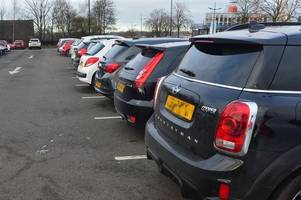 snp and tories of north lanarkshire council clash over car park tax