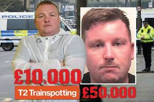 trainspotting actor bradley welsh 'executed in £10,000 hit over link to gangster'