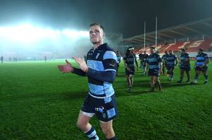 gareth anscombe will start for cardiff blues against ospreys as he's handed duty of ruining new team's season