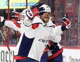 alex ovechkin's tying goal is waved off as hurricanes force game 7 vs. capitals
