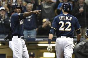 statuesday: brewers' yelich having an april for the ages