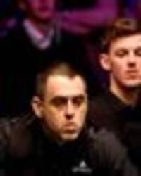 ronnie o'sullivan 'looked like he didn't care' in shock james cahill defeat - jimmy white