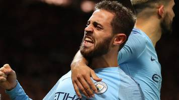 Man Utd 0-2 Man City: Champions win derby to return to top of table