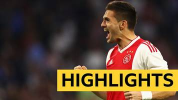 Watch: Ajax score four before Tottenham Champions League semi-final