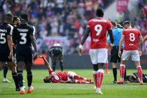 bristol city suffer major injury setback ahead of derby county clash and final play-off push