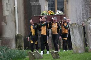 Nearly 300 people attend funeral of Surrey cycling pioneer Keith Butler in Horley