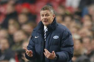 ole gunnar solskjaer admits united are not at city and liverpool's level yet