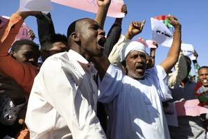 [update] sudan's military council, opposition agree on panel to resolve differences