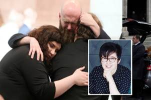 lyra mckee funeral: hundreds of heartbroken mourners gather for journalist shot by new ira