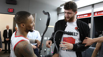 traina thoughts: don't let damian lillard's heroics take away from jusuf nurkic's big night