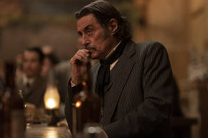 'deadwood' movie trailer: al swearengen is back and so are his rivals (video)